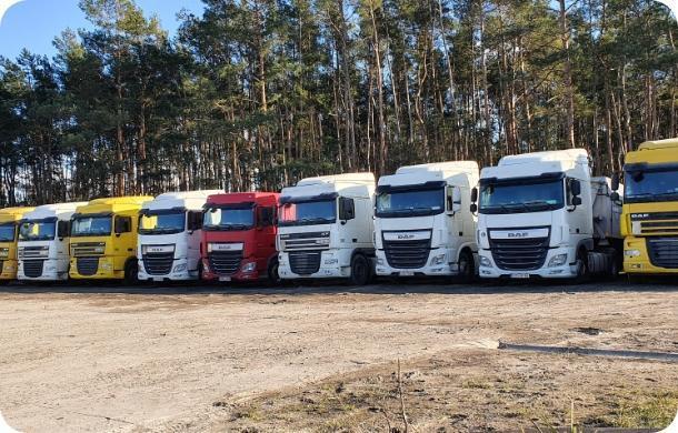 Flota ciężarówek